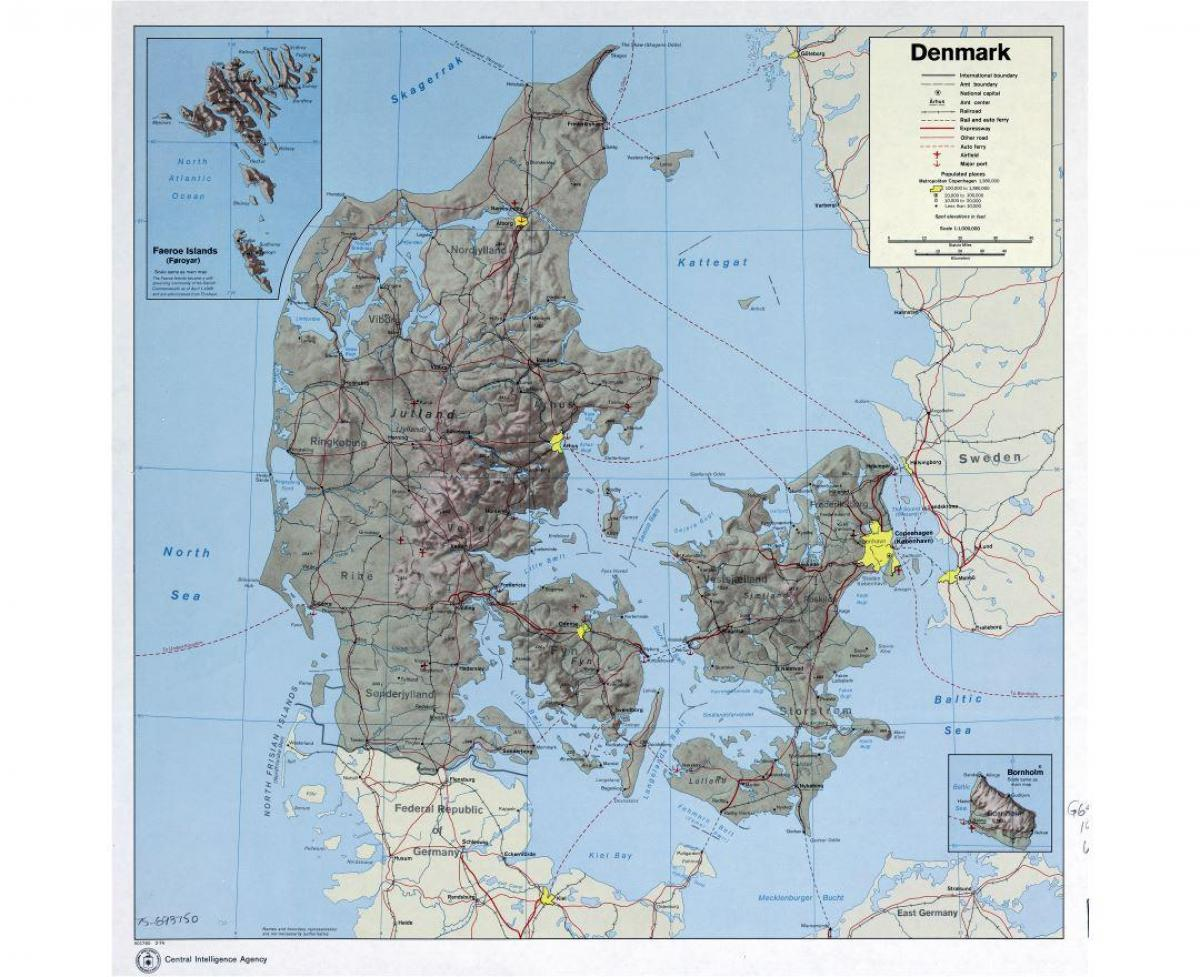 International Airports In Germany Map.Denmark Airports Map International Airports In Denmark Map